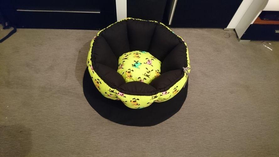 Makerist - Hundekörbchen  - Nähprojekte - 1