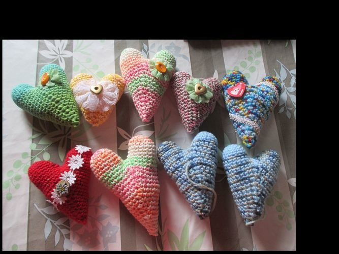 Makerist - Herzchen für alle Gelegenheiten und nicht nur zum Muttertag! - Häkelprojekte - 3
