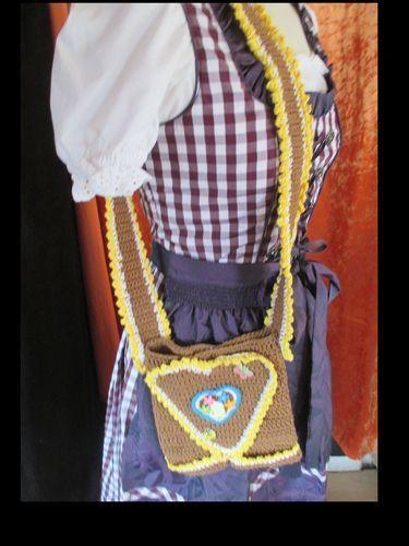 Makerist - Trachtentaschen zum Oktoberfest - Häkelprojekte - 3