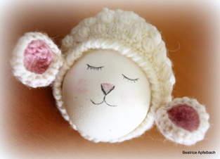 Makerist - Süße kleine Schäfchenmütze - 1