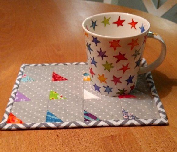 Makerist - Mug Rug für eine liebe Freundin - Patchwork-Projekte - 2
