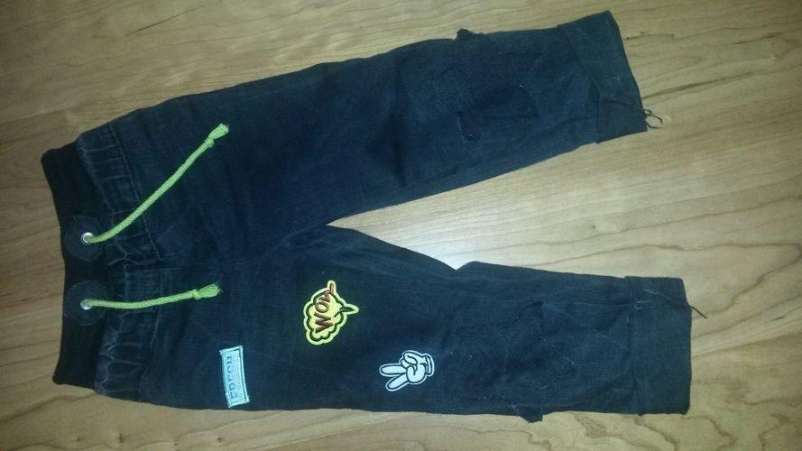 Makerist - Upcycling Jeans mit Patches Gr. 104 - Nähprojekte - 2