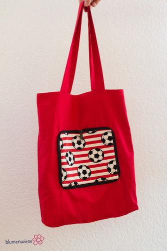 Makerist - Einkaufstasche zum Falten - Nähprojekte - 1
