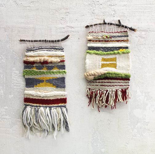 Makerist - Webteppich II + III - Textilgestaltung - 1
