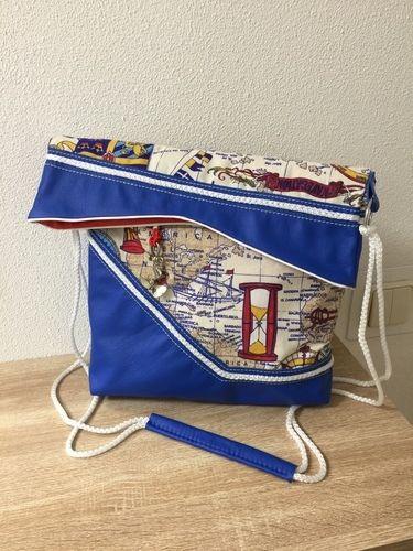 Makerist - Shopper/Falttasche #sweetBIGBAG von SWEET THINGS (FOR LITTLE KINGS) - Nähprojekte - 2