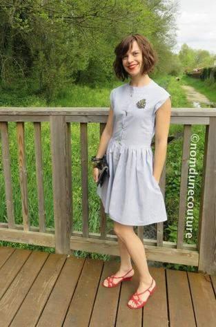 Makerist - Ma robe Simone (patron Louis Antoinette Paris) - 1