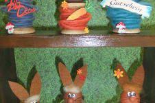 Makerist - Meine Spulen-Osterhäschen - 1