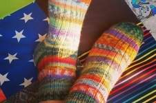 Makerist - Stricksocken - 1