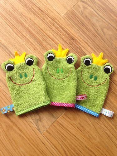 Makerist - Waschlappen Froschkönig von I'm sew happy! als Geburtstagsgeschenke für Krippenkinder - Nähprojekte - 1
