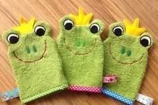 Makerist - Waschlappen Froschkönig von I'm sew happy! als Geburtstagsgeschenke für Krippenkinder - 1