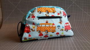 Makerist -  Tolle Kulturtasche von Lene Mene Muh aus Stoffresten - 1