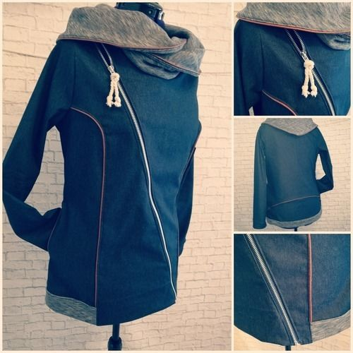 "Makerist - Jacke ""Jordis"" von Finnleys' aus Jeans - Nähprojekte - 1"