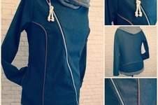 """Makerist - Jacke """"Jordis"""" von Finnleys' aus Jeans - 1"""