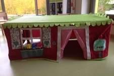 Makerist - Tischhusse Spielzelt für kleine Zwerge - 1