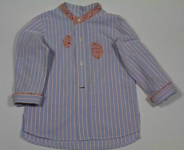 Makerist - Upcycling Herrenhemd zur Mädchenbluse - Nähprojekte - 1