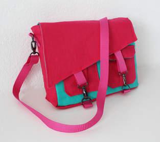 Makerist - Tasche Ajan mit schräger Klappe - 1