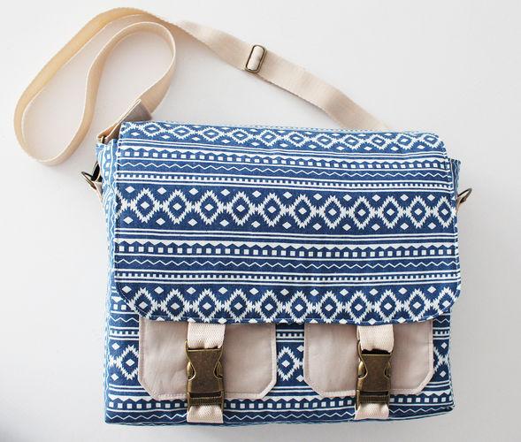 Makerist - Tasche Ajan (Bürotasche - Messenger Bag)  - Nähprojekte - 1