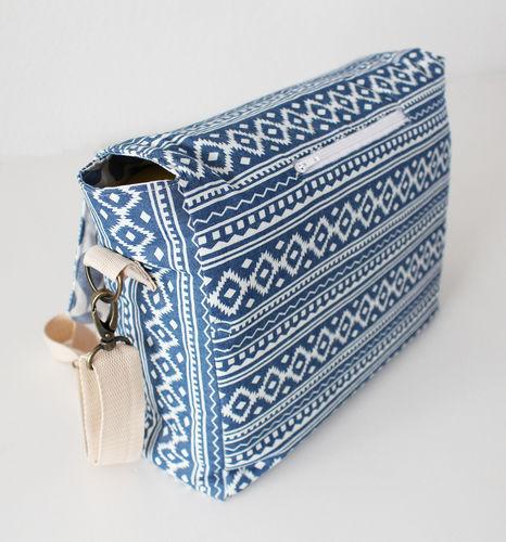 Makerist - Tasche Ajan (Bürotasche - Messenger Bag)  - Nähprojekte - 2