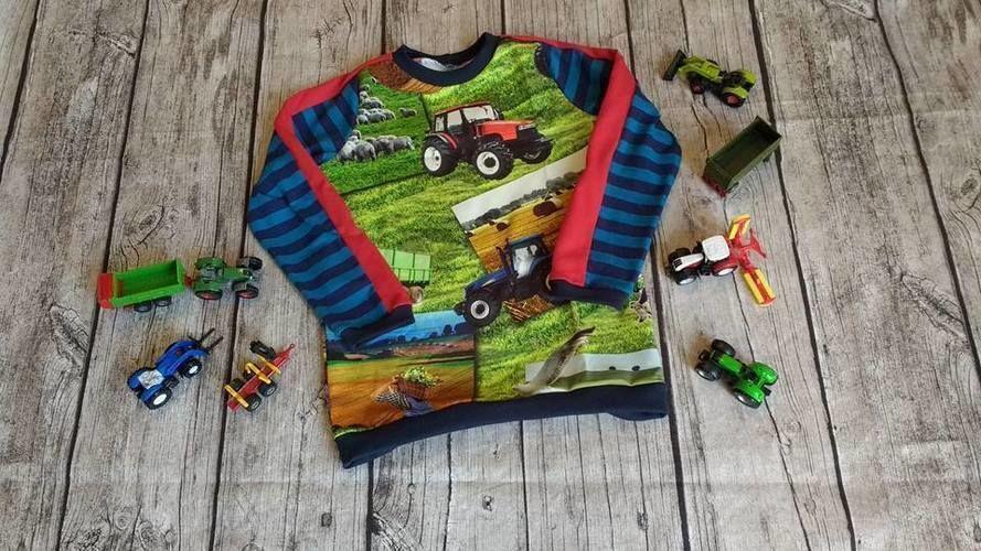 Makerist - Meeri für Traktorfans - Nähprojekte - 1