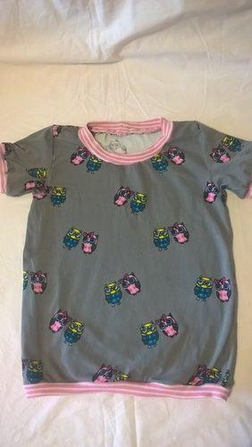 Makerist - Basic Shirt Lena&Louis in kurz - Nähprojekte - 1