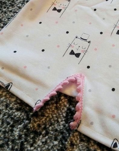 Makerist - zuckersüßes Langarmshirt für eine kleine Katzenliebhaberin - Nähprojekte - 2