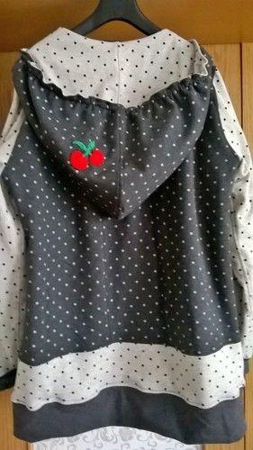 Makerist - Damenjacke aus Sweat mit gehäkelten Applikationen - Nähprojekte - 2