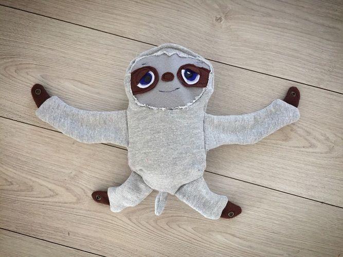 Makerist - Mein Sohn hat ein Faultier selber genäht! - Nähprojekte - 1