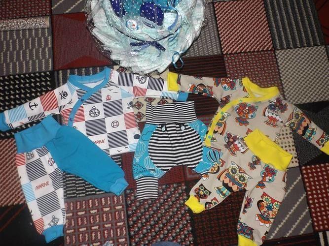 Makerist - Wickeljäckchen für meinen Neffen - Nähprojekte - 1