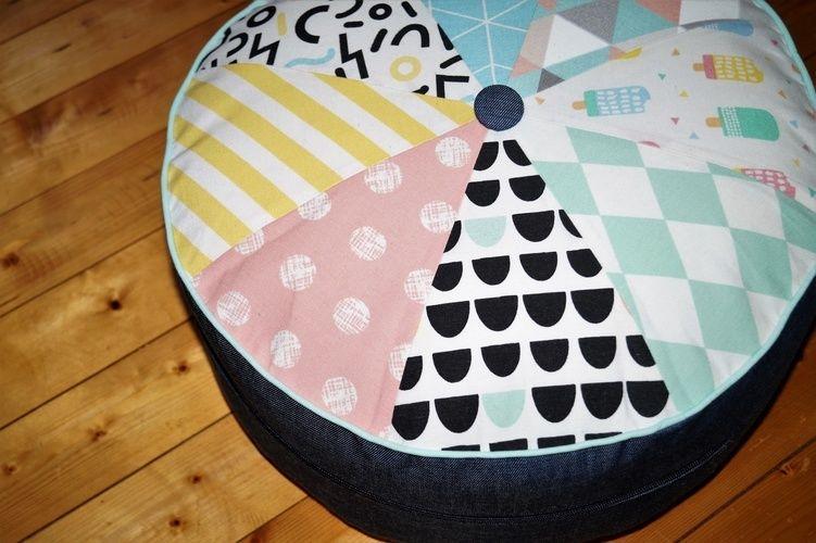 Makerist - Yogakissen Sitzkissen Frau Scheiner schneidert - Nähprojekte - 2