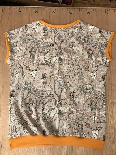 Makerist - Schmetterlingsflügel. T-Shirt aus Jersey für meine Tochter.  - Nähprojekte - 2