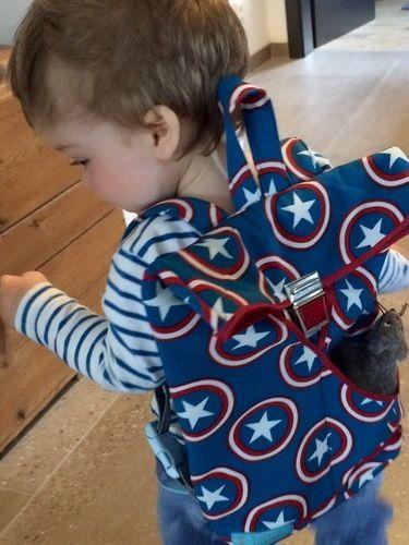 Makerist - Kinder-Rucksack von Frau Scheiner - Nähprojekte - 2