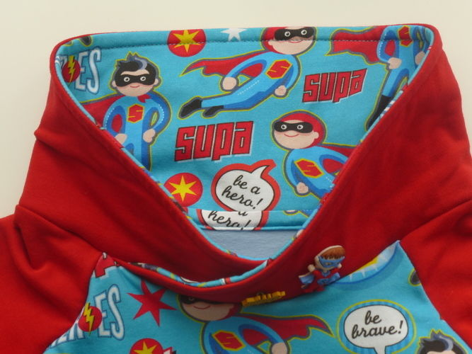 Makerist - Himmlischer Vince als Superhelden-Hoodie - Nähprojekte - 3