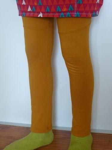 Makerist - Senffarbene Leggings von Konfetti Patterns - Nähprojekte - 1