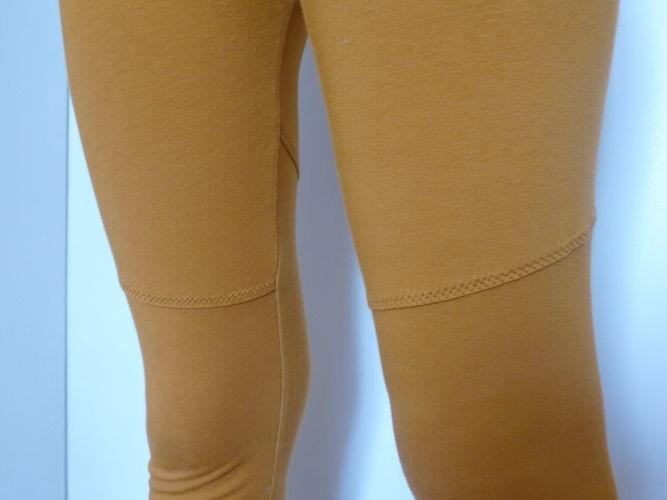 Makerist - Senffarbene Leggings von Konfetti Patterns - Nähprojekte - 3
