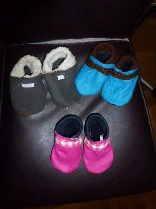 Makerist - Kinderhausschuhe Puschen - 1