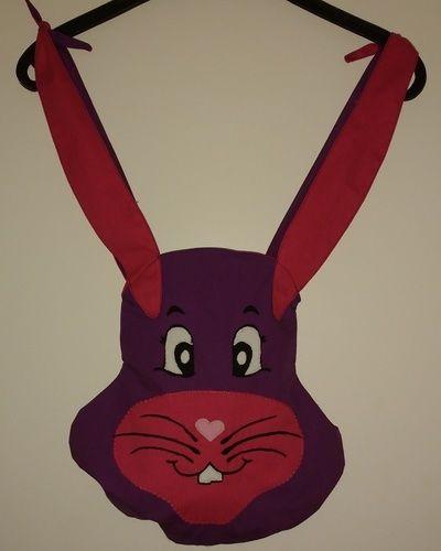 Makerist - BunnyBag in groß und klein mit Applikation  - Nähprojekte - 2