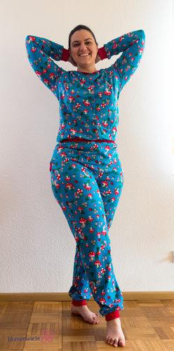 Makerist - Superbequemer Schlafanzug - Nähprojekte - 1