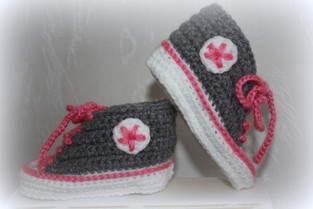 Makerist - .... Chucks fürs Baby .... - 1
