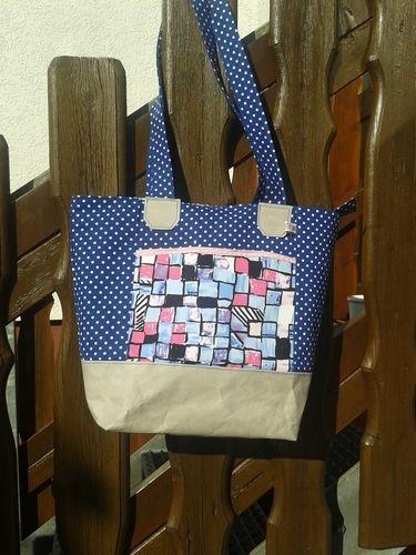 Makerist - Boat Bag von Unikati aus SnapPap und Stoff  - Nähprojekte - 1