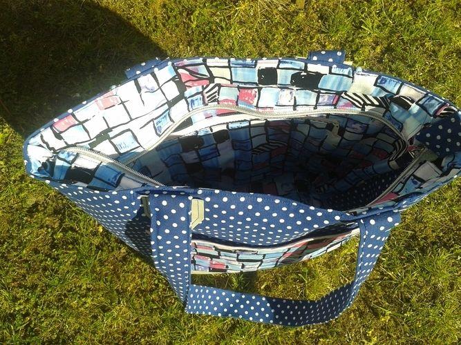 Makerist - Boat Bag von Unikati aus SnapPap und Stoff  - Nähprojekte - 2