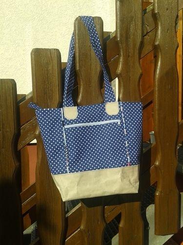 Makerist - Boat Bag von Unikati aus SnapPap und Stoff  - Nähprojekte - 3