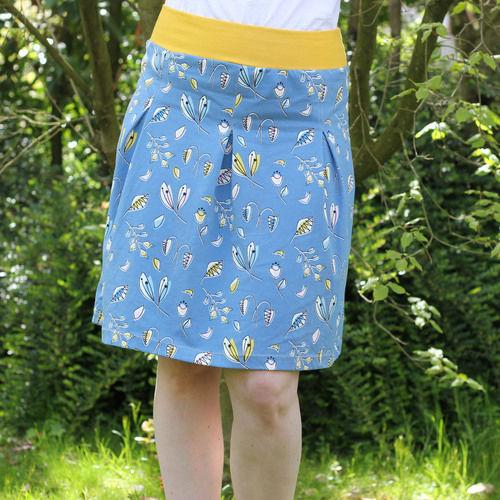 Makerist - Lillestoff Jerseyrock Frau Antje für mich! - Nähprojekte - 1