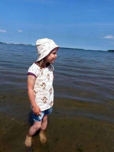 Makerist - Easy Peasy für meine Tochter - Nähprojekte - 1