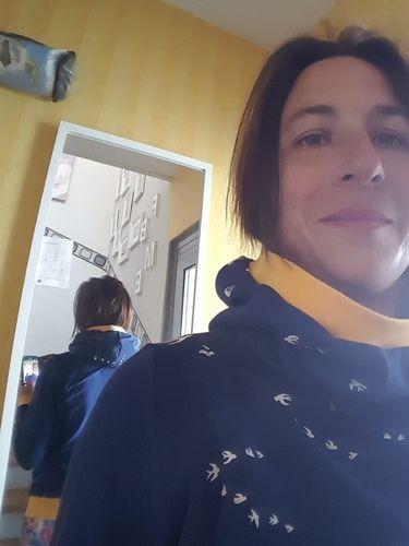Makerist - Hoodie mit Mega-Kragen und Kapuze  für mich selbst  - Nähprojekte - 1