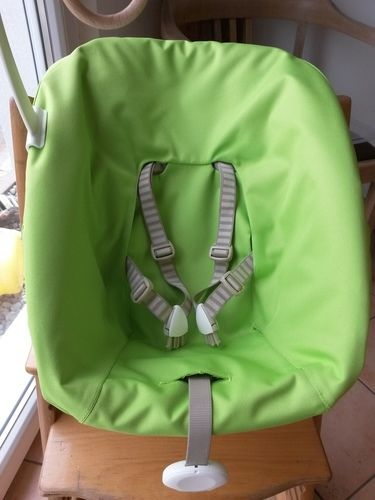 Makerist - Tripp Trapp Newbornschale in grün - Nähprojekte - 1