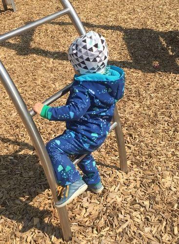 Makerist - Ein Kid5 Wintersuit aus Softshell für meinen Spielplatzpirat <3 - Nähprojekte - 2