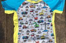 "Makerist - ""Hauptsache Bagger"" - Raglan-Sommershirt aus Jersey - 1"