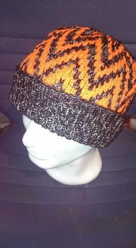 Makerist - Mütze mit Zackenmuster - Strickprojekte - 2