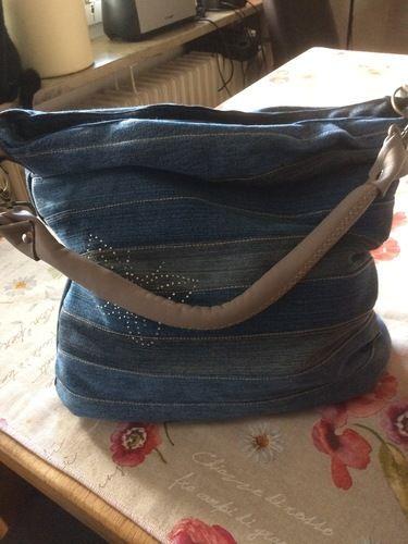 Makerist - Jeans-upcycling-tasche-chobe - Nähprojekte - 1