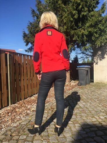 Makerist - Lady (Grace) in red - Nähprojekte - 1